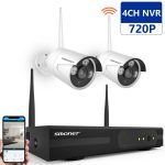 SMONET 4CH 1080P Video Security System,
